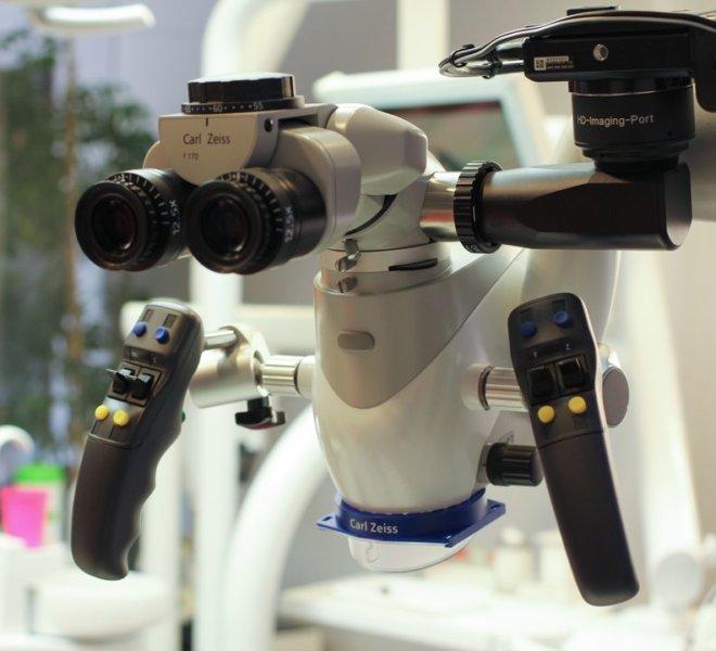 CarlZeiss fogászati mikroszkóp