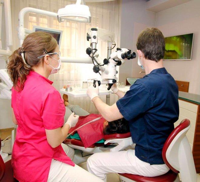 Esztétikai fogászat, fogászati mikroszkóp