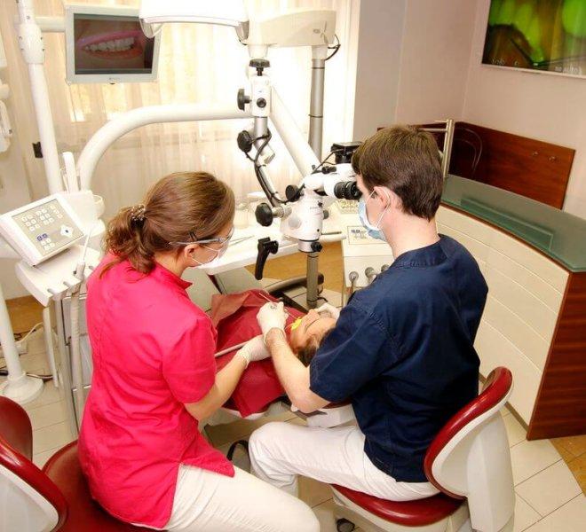 Esztétikai fogászat, fogászati mikroszkóp 2